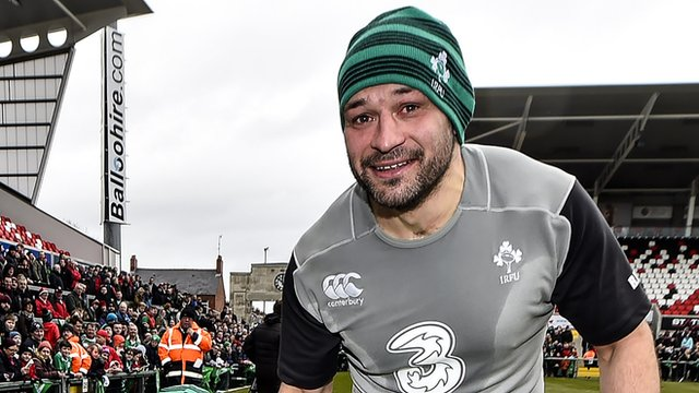 Rory Best admitted Ireland's set-piece was not at its best