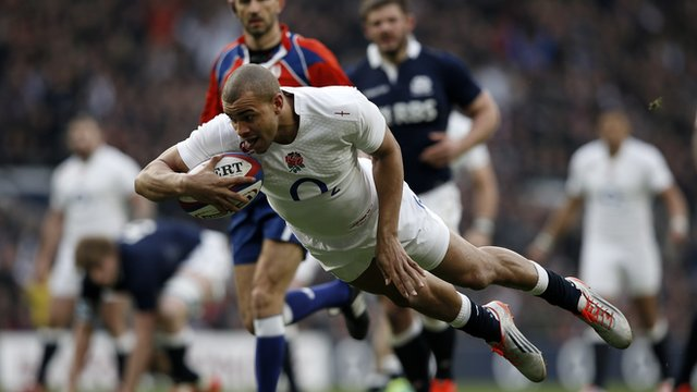 Joseph scores early try for England