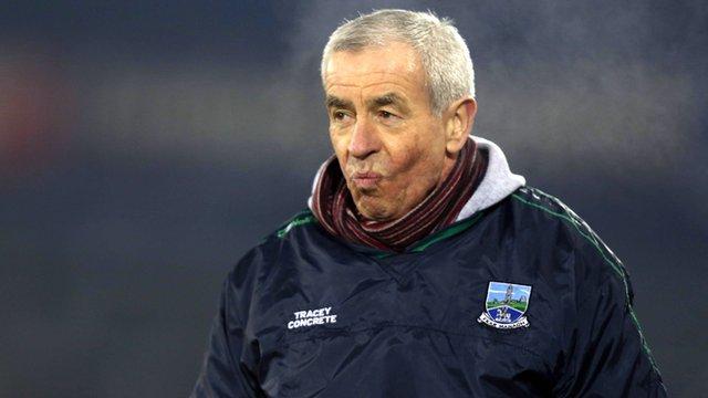 Fermanagh manager Pete McGrath