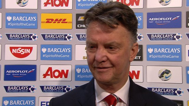 Win is massive - Manchester United manager Louis van Gaal