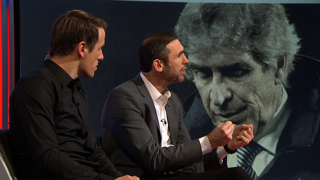 Match of the Day 3's Philip Neville and Martin Keown