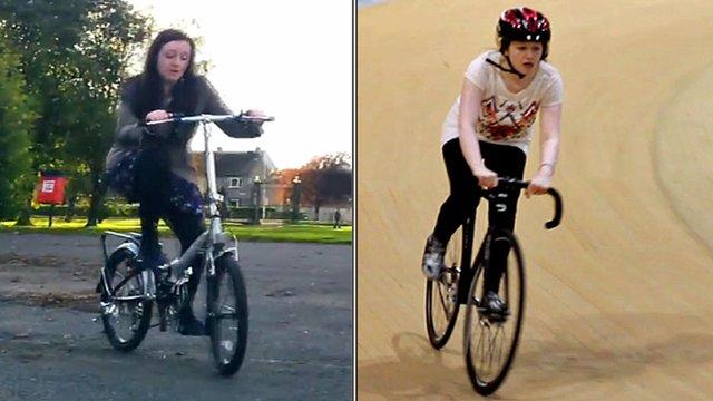 Paula cycling