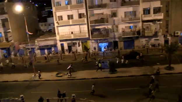 Protesters in Aden flee after security forces open fire