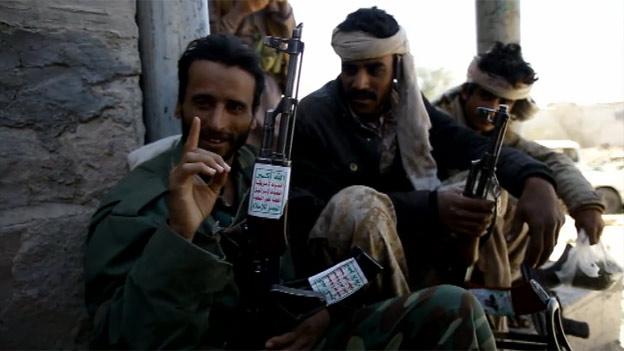 Houthi gunmen