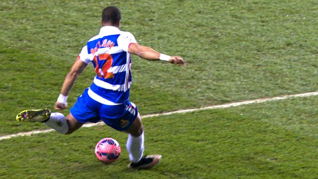 Garath McCleary puts Reading 2-0 up against Bradford City in the FA Cup