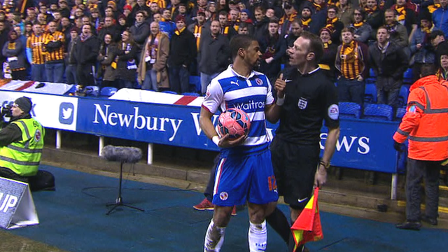 Reading's Garath McCleary allegedly racially abused
