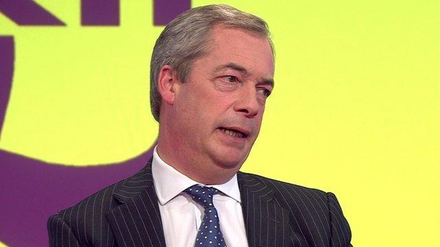 Nigel Farage on Daily Politics