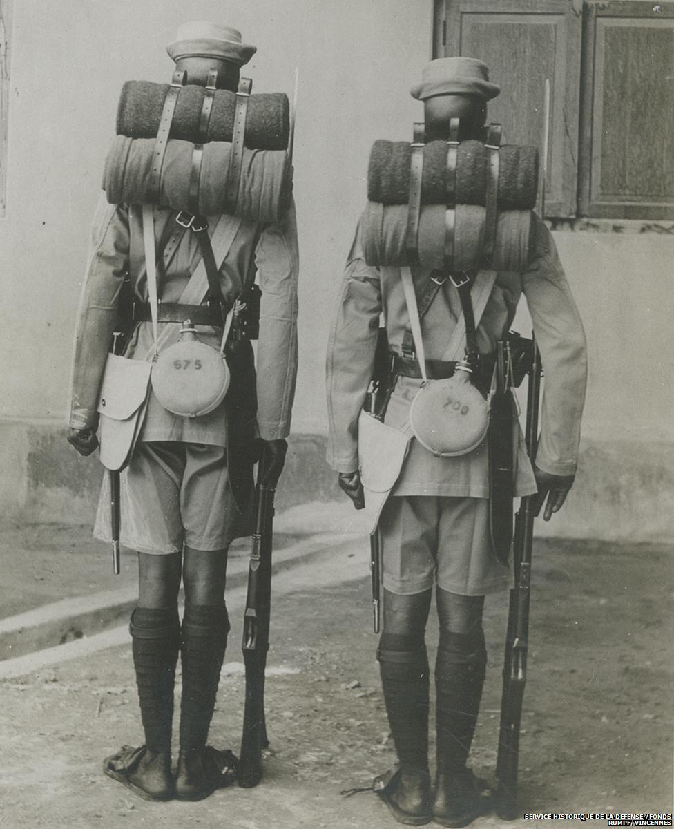 Sepoys in uniform