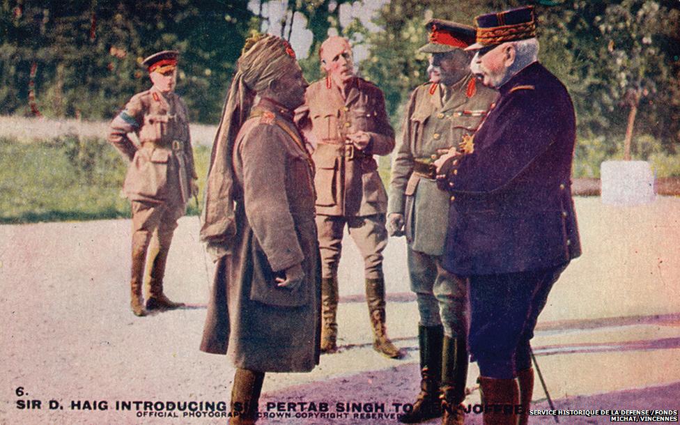 Sir pertab singh meets general joffre