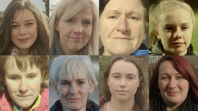 Women montage