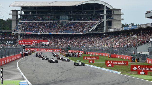 BBC Sport - Formula 1: Why has the German Grand Prix apparently foundered?