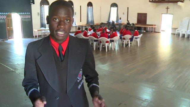 Nairobi's letter-writing school pupils