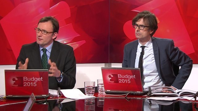 James Landale and Robert Peston