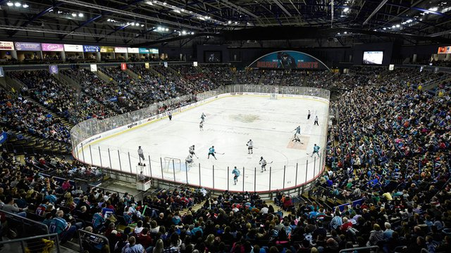 Belfast Giants played in front of 11,000 supporters at the Odyssey Arena last weekend