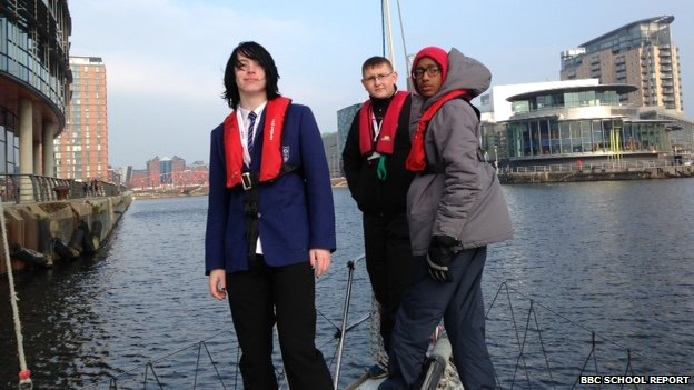 Journey's end for the Observatory School sailors