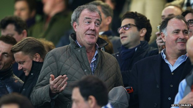 Clarkson pictured at the Chelsea PSG match 2015