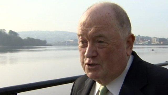 Cricket Ireland president Joseph Doherty