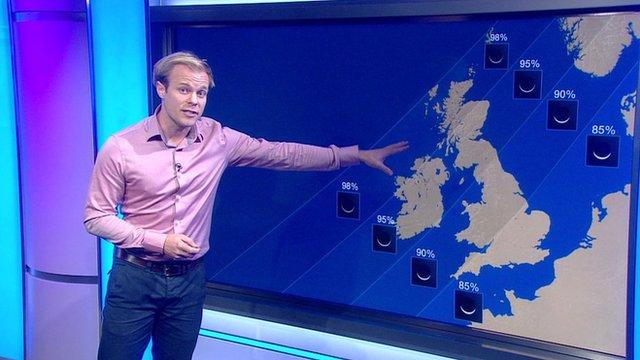 Simon King weather report