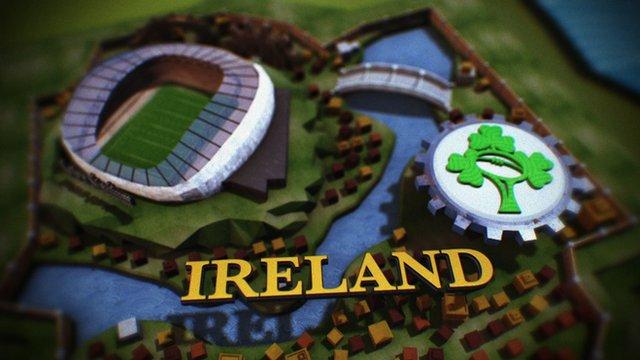 Six Nations Game of Thrones Ireland