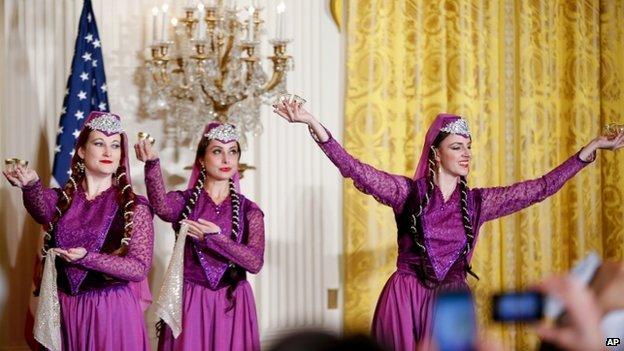 Norouz celebration at the White House