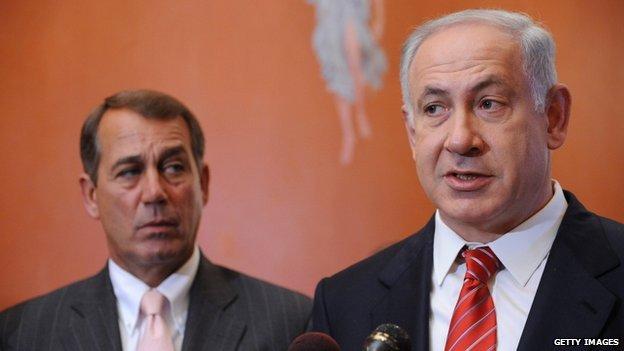 Speaker Boehner and Prime Minister Netanyahu in 2009
