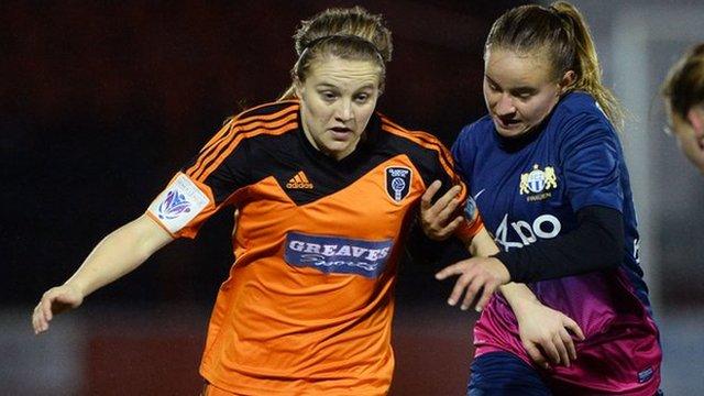 Glasgow City prepare for PSG test