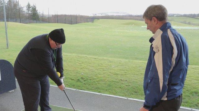 BBC Get Inspired: BBC producer improves golf swing