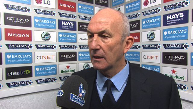 West Brom manager, Tony Pulis