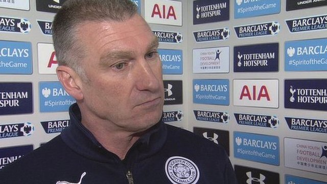 Leicester manager, Nigel Pearson