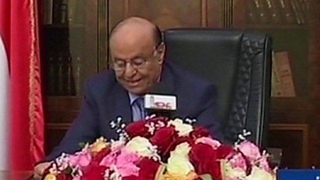President Abdrabbuh Mansour Hadi