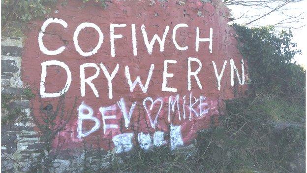 Arwydd Tryweryn