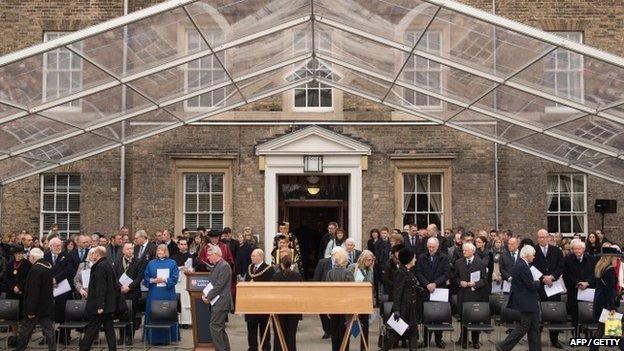 Richard III ceremony