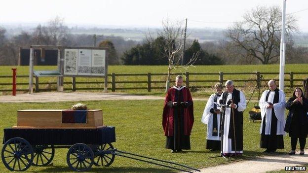 Richard III ceremony at Bosworth