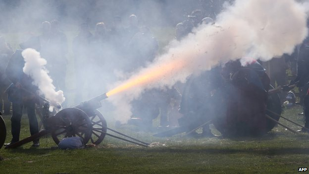 Cannons at Bosworth