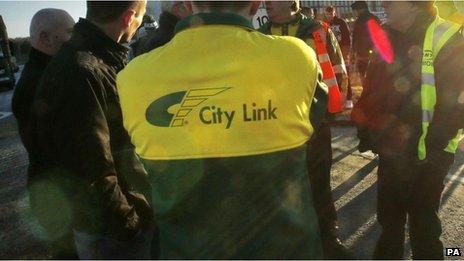 Citylink worker
