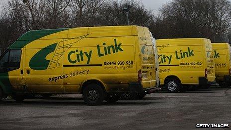 City Link vans