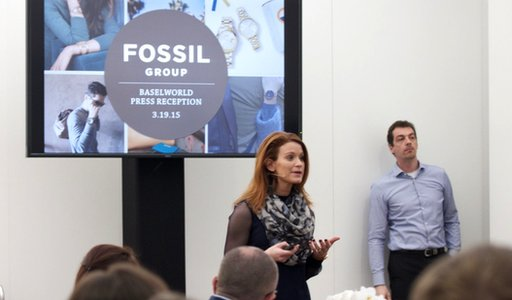 Fossil press conference