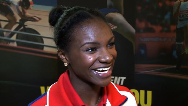 GB sprinter Dina Asher-Smith