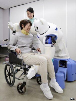 Patient and robot