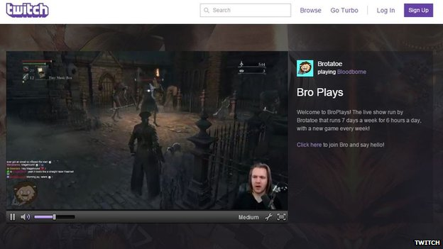 Amazon Buys Video Game Streaming Page Twitch