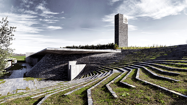 Sancaklar mosque, Istanbul - finalist in Designs of the Year 2015