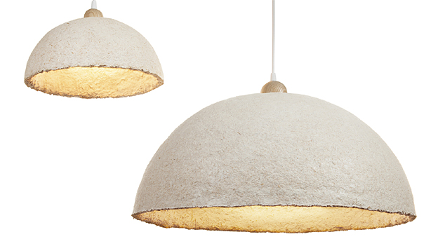 """""""Grow it yourself"""" lampshades - Ecovative, finalist in Designs of the Year 2015"""