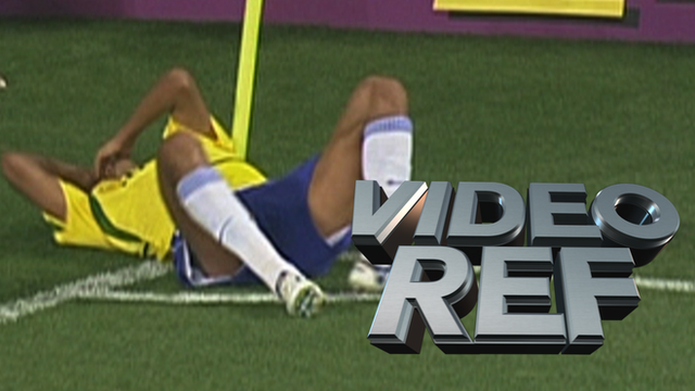 Video Ref: Does Rivaldo cheat to get Hakan Unsal sent off?
