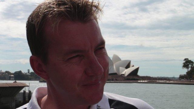Former Australia fast bowler Brett Lee