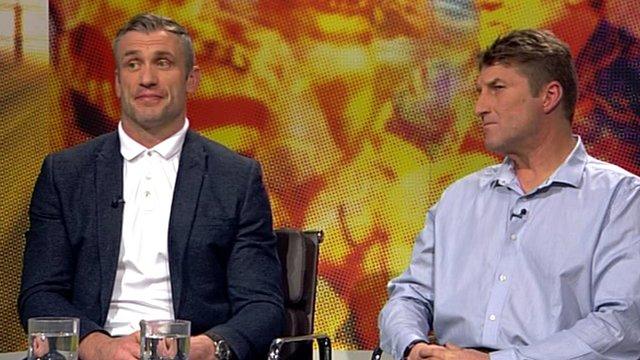 Jamie Peacock and Tony Smith