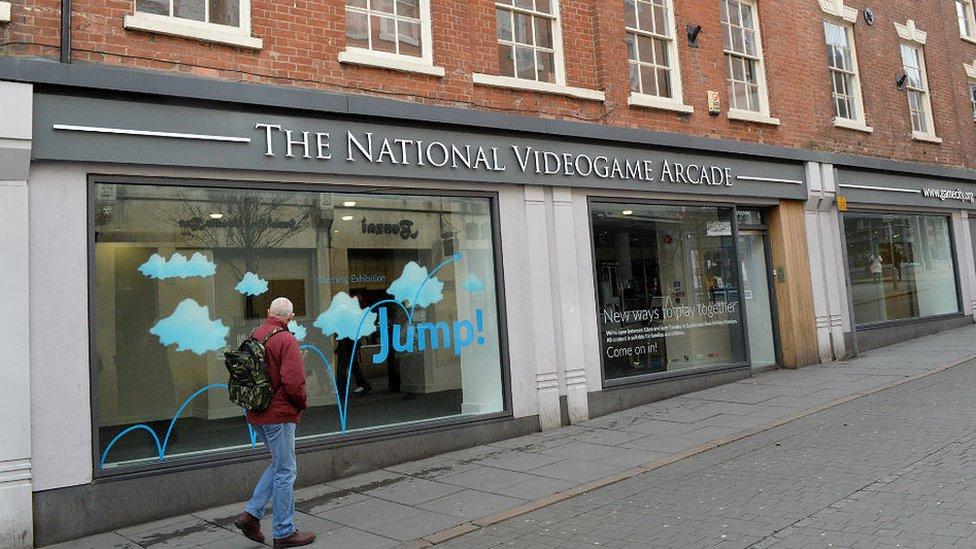 External shot of National Videogame Arcade