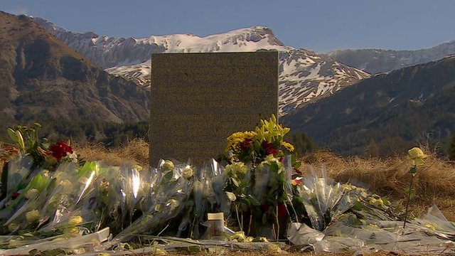 Memorial to the victims of Flight 4U 9525