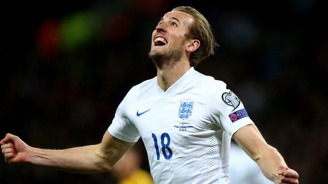 England and Tottenham forward Harry Kane