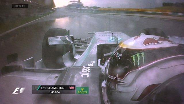 Hamilton takes pole in Malaysia