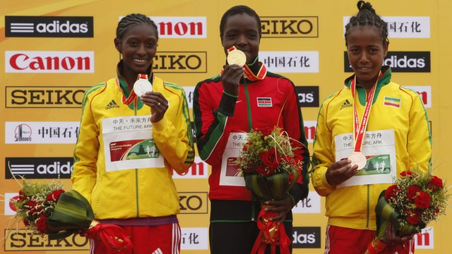Kenya enjoyed success in the World Cross Country Championships